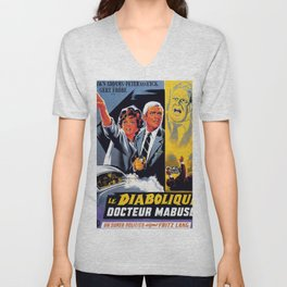 The Diabolical Doctor Mabuse Unisex V-Neck