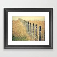 Pastures Framed Art Print