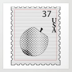 Apple to Paper Art Print