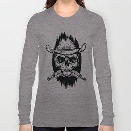 Outlaw's Skull Long Sleeve T-shirt