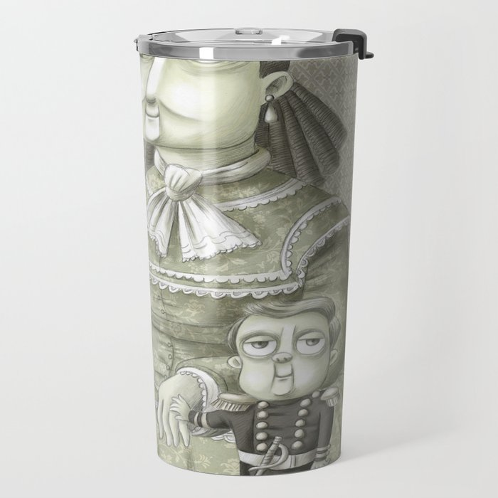 Miss Annie, P.T. and Commodore Nutt Travel Mug