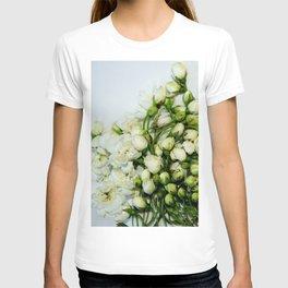 tiny white flowers T-shirt