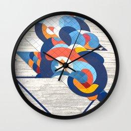Sao Paulo urban wall Wall Clock