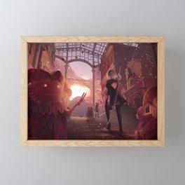 NieR: Automata - Welcome to the Amusement Park Framed Mini Art Print