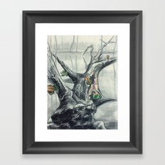 Well I Got Puzzles... Framed Art Print