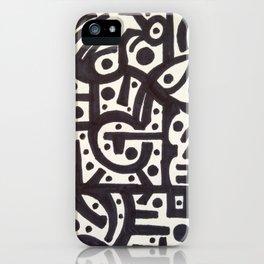 So Many Holes iPhone Case