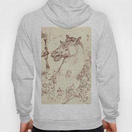 Leonardo Da Vinci, The Four Horses of Apollo Hoody