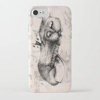 shoe iPhone & iPod Cases featuring shoe cat by Andreas Derebucha