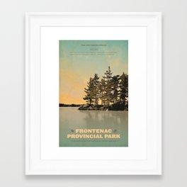 Frontenac Provincial Park Poster Framed Art Print