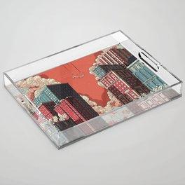 Dream - Free Fall Acrylic Tray