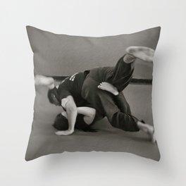 Jiu Jitsu Throw Pillow