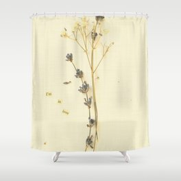 I'm in love Shower Curtain