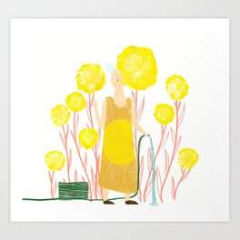 Happy May Art Print