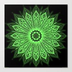 ozorahmi glow mandala Canvas Print