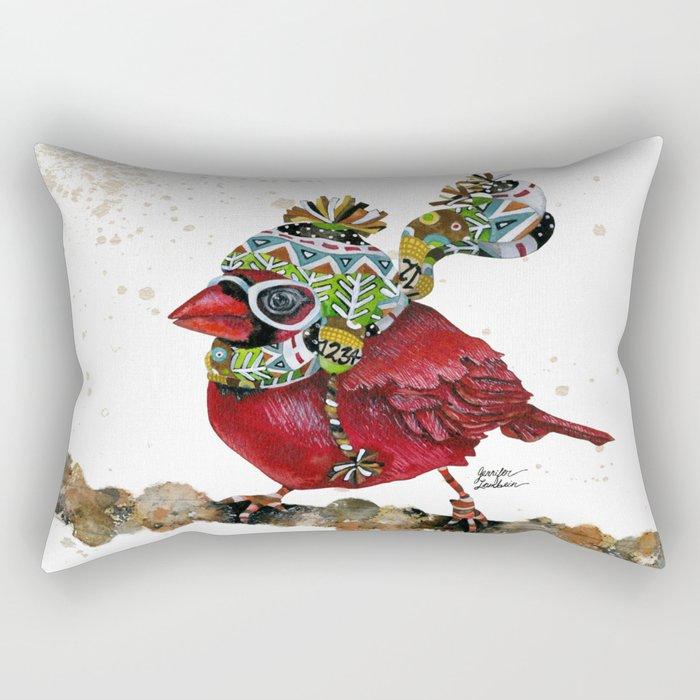 Cardinal Blaze 3 Rectangular Pillow