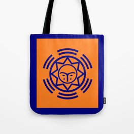 African Shield In Two Colors Tote Bag