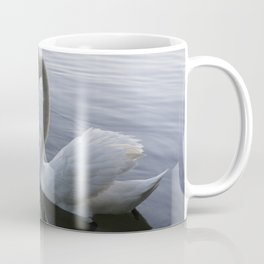 Romatic Swan Couple Coffee Mug