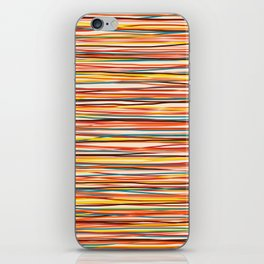 Colored Lines #1 iPhone Skin