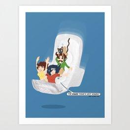 The Maxisode Art Print