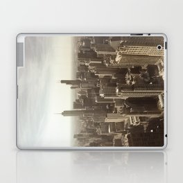 Chicago Buildings Sears Tower Sky Sun Color Photo Laptop & iPad Skin