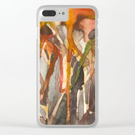 Deep Roots of Mama Tree Clear iPhone Case