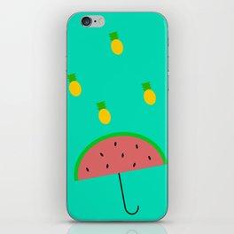 Summer Rains iPhone Skin