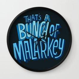 Malarkey Wall Clock