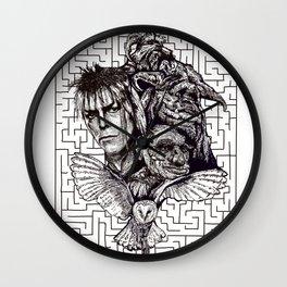 Labrynth Wall Clock