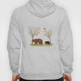 Walk In The Woods With Mama Bear Hoody