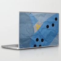 hyrule Laptop & iPad Skins featuring Hyrule Rulez #002 by Be Yourself