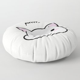 Purrring Kawaii Kitten MEOW! =(^_^)= Floor Pillow
