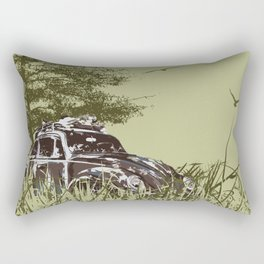 Loved Bug Rectangular Pillow