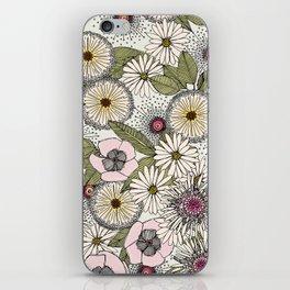 Australian garden chalk iPhone Skin