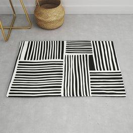 Crossed Lines II Rug