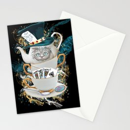 Alice in Wonderland Cheshire Cat Stationery Cards