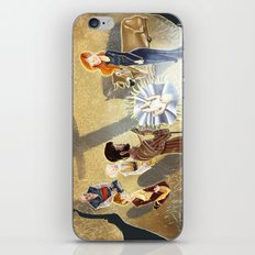 The Word became flesh and dwelt among us iPhone & iPod Skin