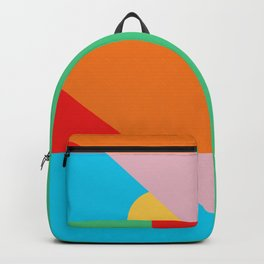 Circle Series - Summer Palette No. 2 Backpack