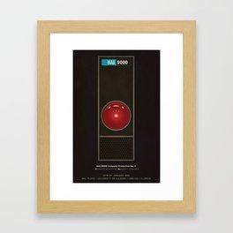 HAL 9000 Framed Art Print