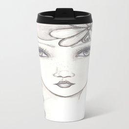 Daisy (The Great Gatsby inspired) Metal Travel Mug