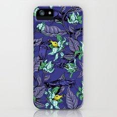 The Sea Garden - deep blue iPhone (5, 5s) Slim Case
