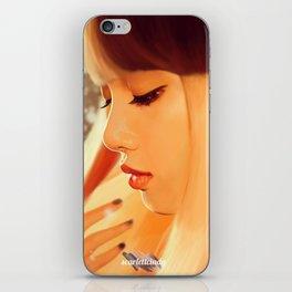 Lisa - Black Pink (Square two) iPhone Skin