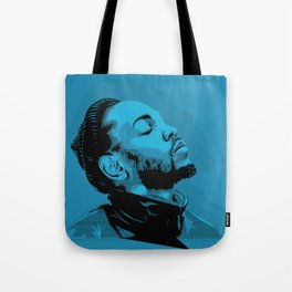 Kendrick Lamar by STENZSKULL Tote Bag