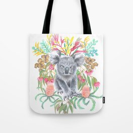 Home Among the Gum leaves Tote Bag