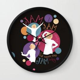 Very Good Jam Wall Clock