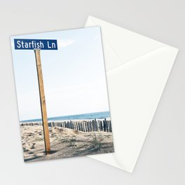 Starfish Ln Stationery Cards