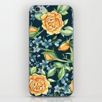 roses iPhone & iPod Skins featuring Roses by Julia Badeeva