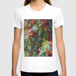 texture paint peeling weathered T-shirt