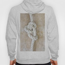 Knot on driftwood Hoody