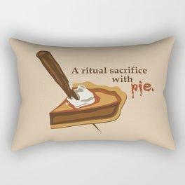 Ritual Sacrifice Rectangular Pillow