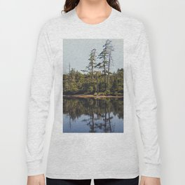 trees and reflections Long Sleeve T-shirt